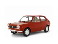 LAUDORACING 1/18 FIAT 127 1 SERIE 1971 ROSSA MODELLINO