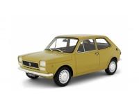 LAUDORACING 1/18 FIAT 127 1 SERIE 1971 GIALLO-BEIGE MODELLINO