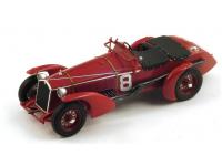 Spark Model 1/18 Alfa Romeo 8C N.8 vittoria Le Mans 1932 modellino
