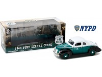 Greenlight 1/18 Ford Deluxe Coupe New York City Police Department modellino