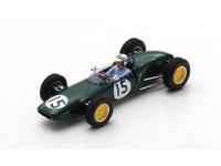 SPARK MADEL 1/43 LOTUS 21 INNES IRELAND VITTORIA GP USA 1961 MODELLINO