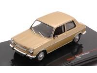 IXO MODELS 1/43 SIMCA 1100 SPECIAL COLORE ORO 1970 MODELLINO