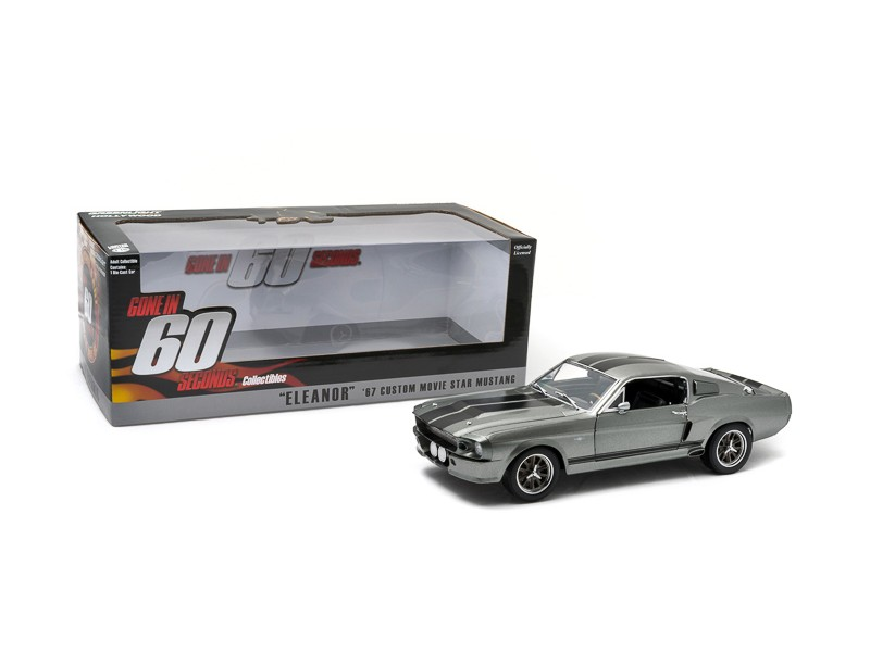 "Greenlight 1/18 Ford Mustang ""Eleanor"" Gone in Sixty Seconds (2000) modellino"