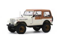 """Greenlight 1/18 1979 Jeep CJ-7 Golden Eagle """"Dixie"""" modellino"""