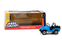 Greenlight 1/43 Mork & Mindy (1978-82 TV Series) Jeep CJ-5 modellino