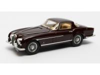 Matrix Scale Models 1/43 Jaguar XK120 Coupe Pininfarina maroon 1954 modellino