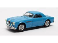 Matrix Scale Models 1/43 Alfa Romeo 6C 2500 SS Supergioiello Ghia Coupe blue 1950 modellino