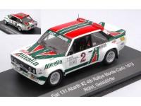 CMR 1/43 FIAT 131 ABARTH N.2 RALLY MONTE CARLO 1978 MODELLINO