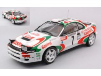 IXO MODELS 1/18 TOYOTA CELICA GT FOUR ST185 N.7 RALLY MONTE CARLO 1993 MODELLINO
