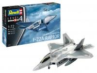 Revell 1/48 Lockheed Martin F-22A Raptor scatola di montaggio