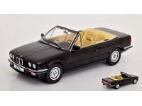 MODELCAR GROUP 1/18 BMW 325i (E30) CABRIO NERA MODELLINO
