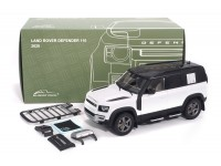 ALMOST REAL 1/18 LAND ROVER DEFENDER 110 BIANCO 2020 MODELLINO