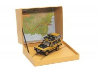 ALMOST REAL 1/18 LAND ROVER DISCOVERY 5-PORTE CAMEL TROPHY KALIMANTA 1996 MODELLINO