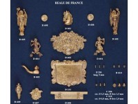 COREL SET DECORAZIONI REALE DE FRANCE