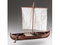 Dusek 1/34 Nave Vichinga knarr kit modellismo navale in legno