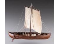 Dusek 1/72 Nave Vichinga knarr kit modellismo navale in legno