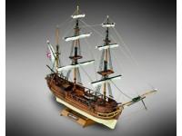 Mini Mamoli 1/121 brigantino H.M.S. Beagle scatola di montaggio modellismo navale