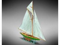 Mini Mamoli 1/170 Shamrock naval model assembly box