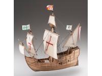 Dusek 1/72 Santa Maria kit modellismo navale in legno