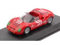 BEST MODEL 1/43 ABARTH SP 1000 N.59 1000 Km MONZA 1968 MODELLINO