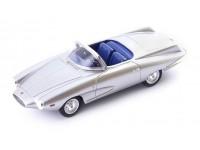 AVENUE 43 FIAT STANGUELLINI 1200 SPIDER AMERICA BERTONE 1957 COLOR ARGENTO MODELLINO