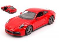 WELLY 1/24 PORSCHE 911 CARRERA 4S ROSSA MODELLINO