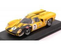 BEST MODEL 1/43 LOLA T70 COUPE N.7 BRANDS HATCH 1969 MODELLINO