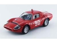 BEST MODEL 1/43 ABARTH OT 1300 N.90 MUGELLO 1967 MODELLINO