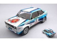 IXO MODELS 1/18 FIAT 131 ABARTH N.5 RALLY PORTUGAL 1980 MODELLINO