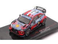 IXO MODELS 1/43 HYUNDAI i20 COUPE WRC N.9 RALLY MONTE CARLO 2020 LOEB-ELENA MODELLINO