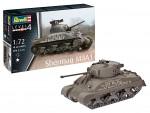 Revell 1/72 Sherman M4A1 scatola di montaggio