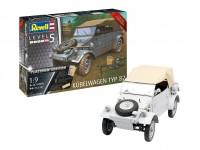 Revell 1/9 Kubelwagen Typ 82 scatola di montaggio