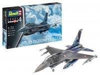 Revell 1/72 Lockheed Martin F-16D Tigermeet 2014 scatola di montaggio