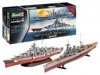 Revell 1/72 HMS HOOD vs. BISMARCK- 80° anniversario scatola di montaggio