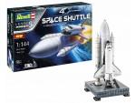 Revell 1/144 Space Shuttle con razzi ausiliari scatola di montaggio