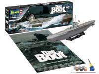 Revell 1/144 Das Boot Collector's Edition - 40° anniversario scatola di montaggio