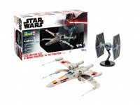 Revell Collector Set X-Wing Fighter & TIE Fighter scatola di montaggio