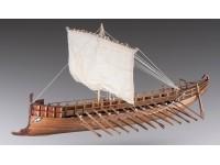 Dusek 1/72 Bireme greca kit modellismo navale in legno