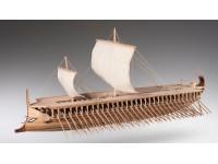 Dusek 1/72 Trireme greca kit modellismo navale in legno