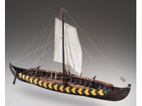 Dusek 1/35 Viking gokstad kit modellismo navale in legno