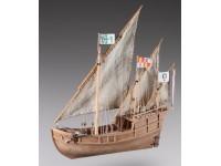 Dusek 1/72 caravella Nina kit modellismo navale in legno