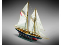 Mini Mamoli 1/1160 schooner fishing bluenose naval model assembly box