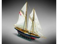 Mini Mamoli 1/1160 goletta da pesca Bluenose scatola di montaggio modellismo navale