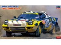 Hasegawa 1/24 Lancia Stratos HF 1980 Sanremo Rally scatola di montaggio