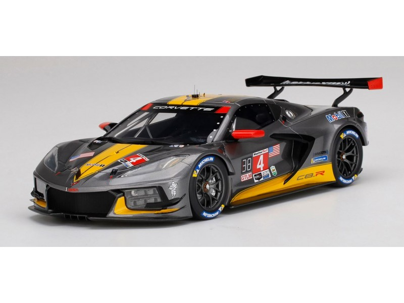 TopSpeed 1/18 Chevrolet Corvette C8.R n.4 2020 IMSA 24 ore Daytona modellino