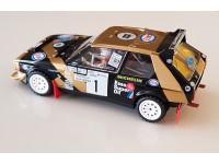 SRC 1/32 Lancia Delta S4 n.1 Tabaton Rally Costa Brava 1986 modellino slot car