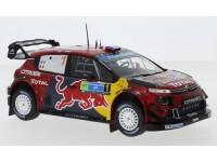 IXO MODELS 1/24 CITROEN C3 WRC N.1 RALLY DEL MESSICO 2019 MODELLINO