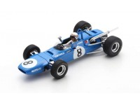 SPARK MODEL 1/43 MATRA MS7 JACKIE STEWART VITTORIA GP DE PAU F2 1968 MODELLINO