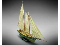 Mamoli 1/66 yachting schooner America wooden naval modeling kit