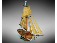 Mamoli 1/54 Gretel imbarcazione da diporto del XVIII secolo kit modellismo navale in legno